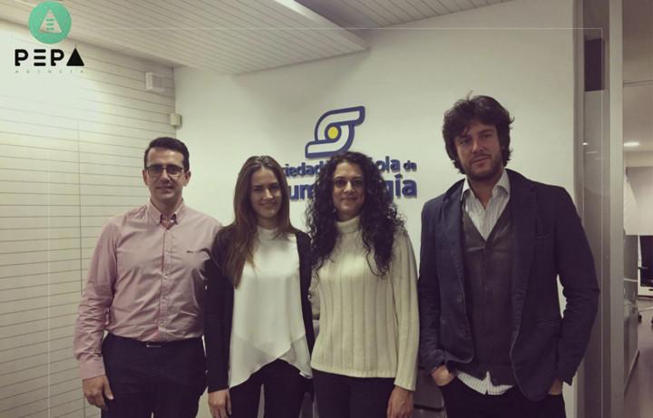 sociedad española de reumatología firma proyecto con agencia pepa