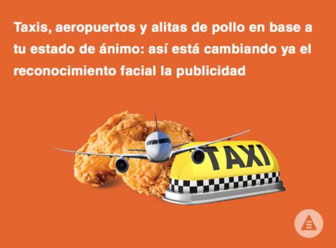 taxis, aeropuertos y alitas de pollo en base a tu estado de ánimo