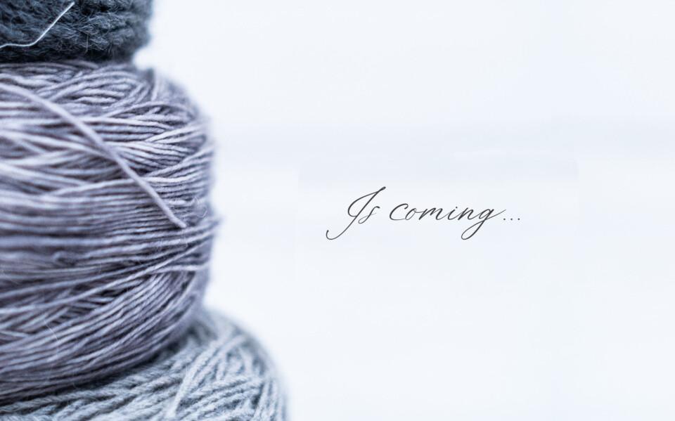 logo en una imagen de lanas