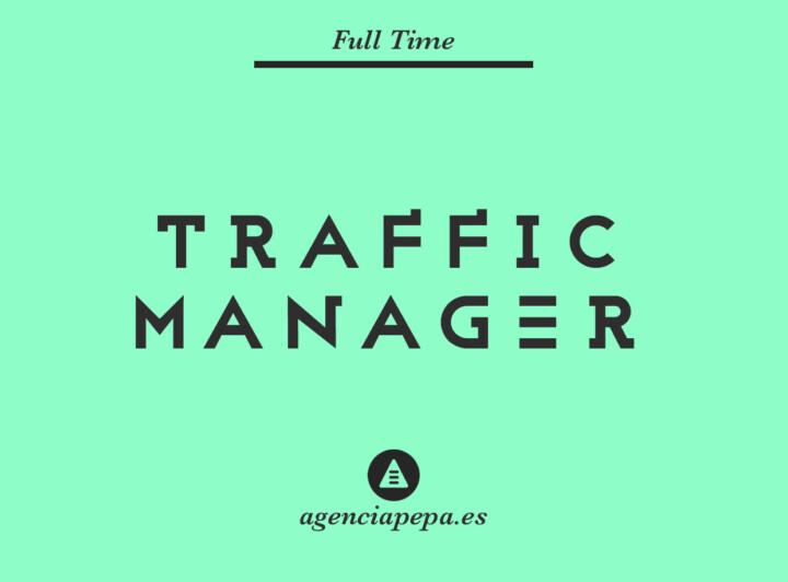 buscamos traffic / community manager senior