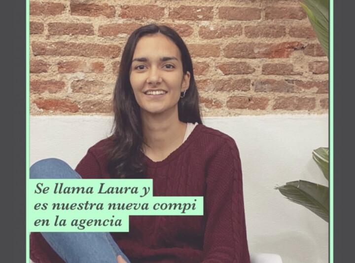 laura, nueva compañera en la agencia